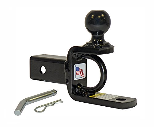 Komodo Atv - ATV/UTV Ball Mount For 2 Inch Receivers With 2 Inch Hitch Ball - Made In U.S.A.