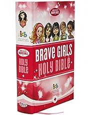 ICB, Tommy Nelson's Brave Girls Devotional Bible, Hardcover, Pink: International Children's Bible
