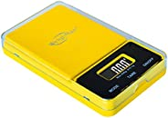 Weighmax NJ650-Yellow Dream Series Digital Pocket Scale, 650 by 0.1 g, Yellow