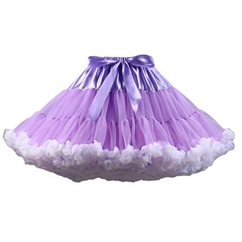 Varies en Femme Jupe Jupon Tutu Tutu Ballet Tulle Court Ballet Tulle en Image YAANCUNN Couleurs 1 Comme Pettiskirt 6gqwv