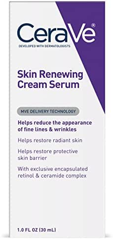 CeraVe Anti Aging Retinol Serum | 1 Ounce | Anti Wrinkle Cream Serum for Smoothing Fine Lines | Fragrance Free
