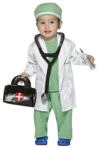 Doctors Outfits - UHC Baby Boy's Future Doctor Outfit Infant Fancy Dress Halloween Costume, 18-24M