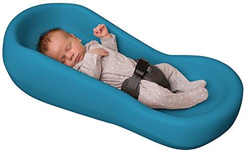 Soft Snoozer Baby Lounger, Aqua