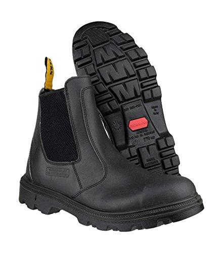 Centek Slip-On Textile Lined Mens Boots - Black - Size 12