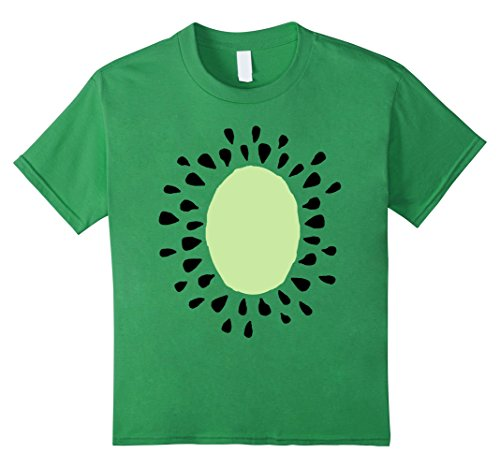 Cute Cheap Costumes For Kids (unisex-child Kiwi Costume Shirt - Cute Cheap Halloween Costume Fruit Tee 10 Grass)