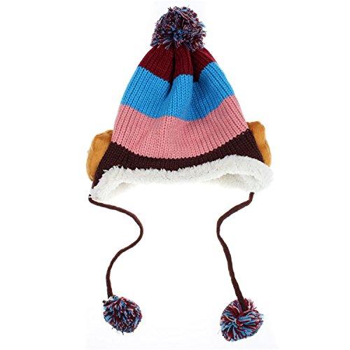 Baby Cute Cartoon Winter Fleece Soft Apron - 6