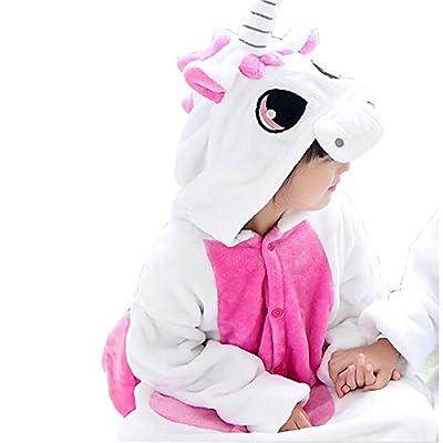 JT-Amigo Kids Unisex Cosplay Pajamas Onesie Unicorn Costume