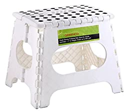Greenco Super Strong Foldable Step Stool for Adults and Kids, 11\