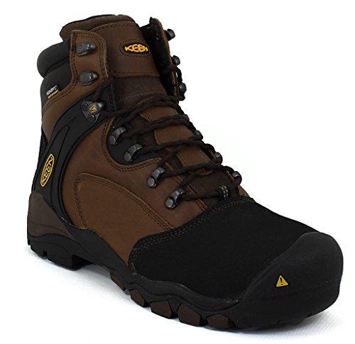 """KEEN Utility Men's Louisville 6"""" Steel Toe Work Boot,Slate B"""