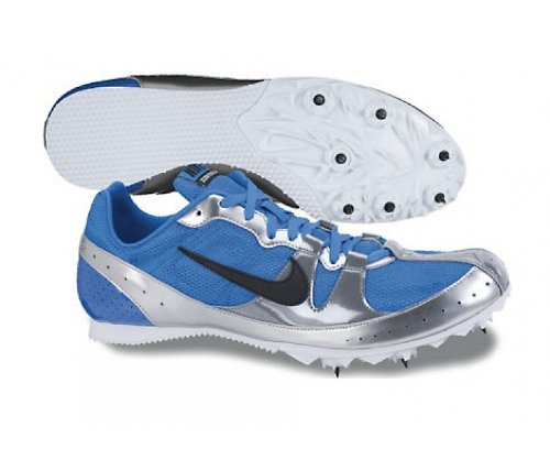 Spikes Blue Nike IV Distance Running Middle Zoom Unisex White Silver Rival xnq7qUwaOf