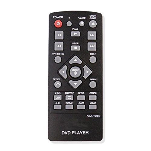 ZdalaMit COV31736202 Replacement Remote Control Controller for LG DVD Player DP132 DP132NU
