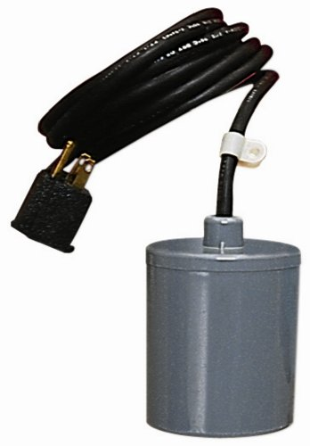 Pump Float Switch - Little Giant 599117 RFSN-9 Piggyback Remote Float Switch for ½ HP Manual Pump