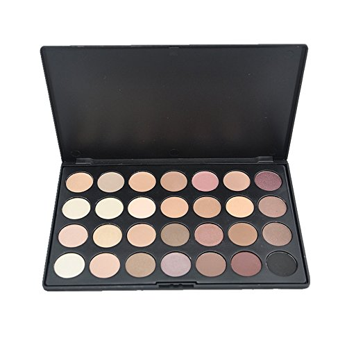 Makeup Eyeshadow Palette 28 Colors Matte Eyeshadow Palette Shimmer Smoky Warm Color Eye Shadows Makeup Kit Natural Nude Earth Tone Waterproof Cosmetics High Pigment Powder Pallet (Multi-colored)
