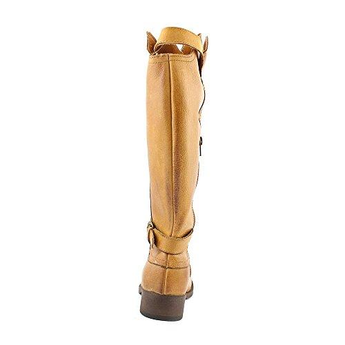 Gold Tan Riding Rocket Leather Boot Rush Women's Dog Cato TqnzpBR