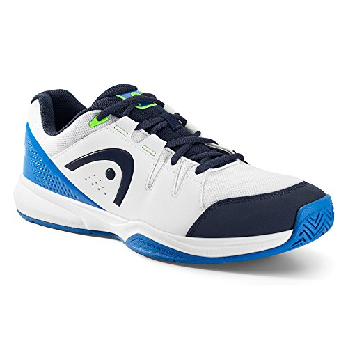 Unisex para Zapatillas Blanco Deportivas Blue White Head Adulto Interior Grid qATXwX