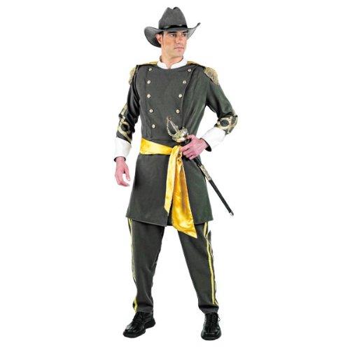 Elbenwald - Costume da sudista - Costume Costume Costume per carnevale o feste a tema - Uniforme con giacca, pantaloni, cappello e cinta, M d35e41