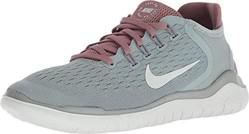 Nike Women's Free RN 2018 Running Shoe (9 M US, Mica Green/Light Silver) (Nike Free Tennis Shoes Women)