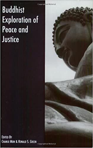 Buddhist Exploration of Peace and Justice edited by Chanju Mun and Ronald S. Green, book cover image