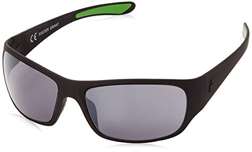 Ironman Men's Flex Wrap Sunglasses, Matte Black Rubberized, 62 - Ironman Sunglasses