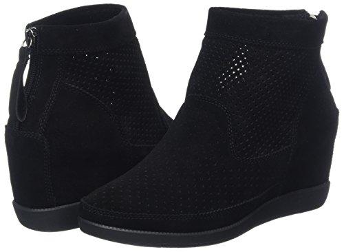 noir 111 Montantes Chaussure Pour Femmes S L'ours Emmy Noir Baskets qF86Fa