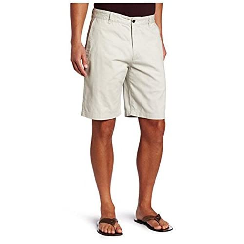 on sale yangelo Summer Men s Classic Casual Cargo Flat Front Shorts Loose  with Zipper Pockets 5d4015237