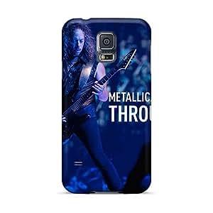 PhilHolmes Samsung Galaxy S5 Protector Hard Phone Case Custom Realistic Metallica Skin [VsL746kjRo]