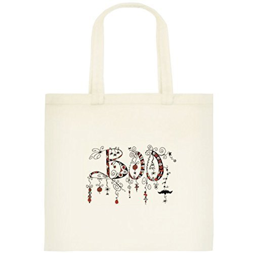 Halloween Trick or Treat Bag BOO Cotton Tote