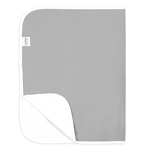 Kushies Baby Deluxe Change Pad, Grey Solid