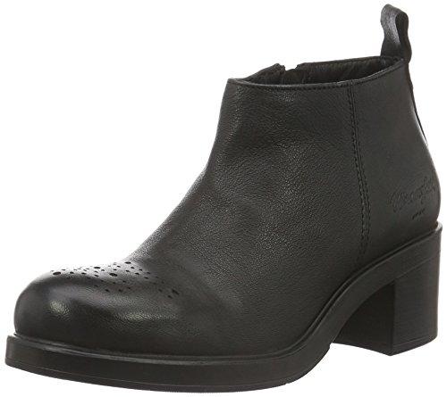 Wrangler Damen Gipsy Booty Kurzschaft Stiefel Schwarz 62 Black ... e19b620e37