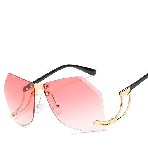 Alta Gafas de de Remaches Las de Irregulares Europeos del Sol Sol Lentes de Sol de definición Americanos y Moda Hombres de Gafas Axiba creativos los Gafas Metal de C Regalos de xqTXdXw8g