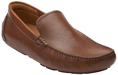 Clarks Men's Davont Drive Slip-On Loafer, Tan, 9.5 M US