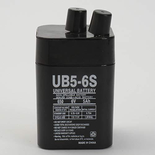 6V 5Ah SLA Replacement Battery for PowerStar DE650-S