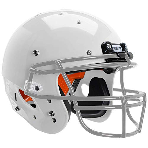 Schutt Sports Youth FB Recruit Hybrid Helmet, White, Large