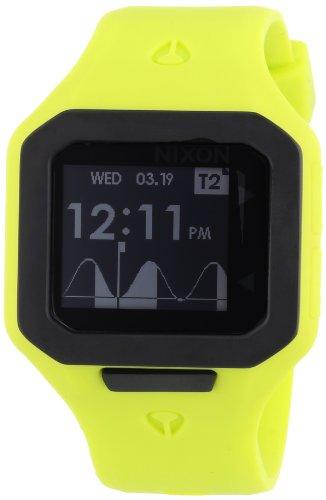 Nixon Unisex Supertide Watch Neon Yellow