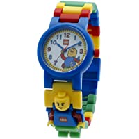 LEGO Classic Kids Minifigure Interchangeable Links Watch