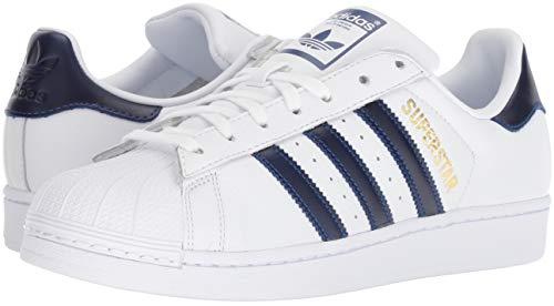 Uomo Metallizzato oro Royal Adidas collegiate Bianco Superstar Sneakers Da HRwRaq