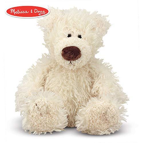 - Melissa & Doug Baby Roscoe Bear - Teddy Bear Stuffed Animal - Vanilla