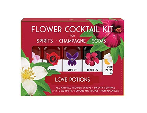 - Floral Elixir Co. Non Alcoholic Cocktail Kit for Love Potions