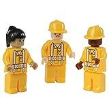 Assorted Construction Worker Interlocking Connecting Bricks Blocks Action Figures (10)