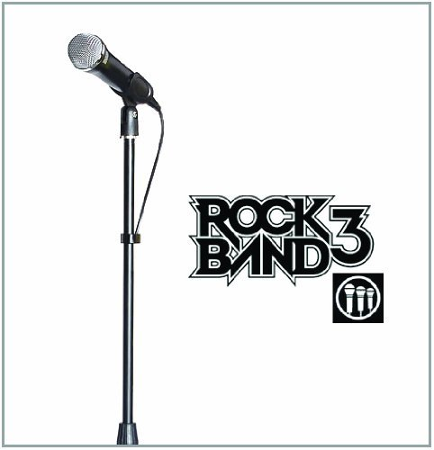 Official Universal Rock Band Microphone Stand by Mad Catz (Stand Microphone Band Rock)