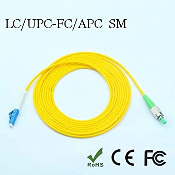 100M FC UPC to FC UPC MM Single Core Simplex Armored Cable Fiber Patch Cord