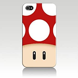 iphone covers Super Mario Mushroom Hard Case Cover Skin for Iphone 6 plus Iphone4 At&t Sprint Verizon Retail Packing