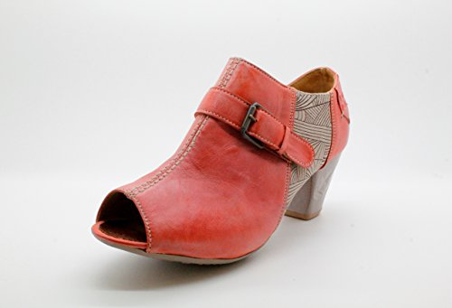 Maciejka - Zapatos de vestir de Piel para mujer rosa melocotón