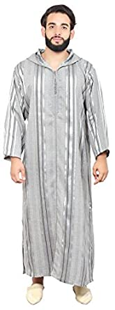Amazon.com: Moroccan Men Clothing Djellaba Handmade and Embroidered