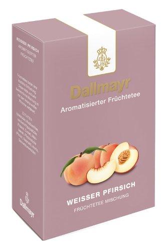 Dallmayr Früchtetee Weißer Pfirsich, 2er Pack (2 x 100 g)