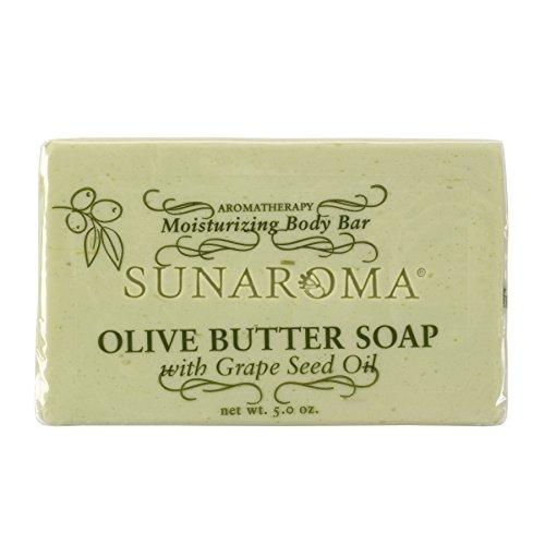 Sunaroma Olive Butter Soap (5 oz) - Balance