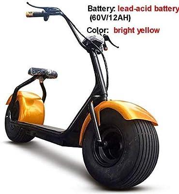 KEMANDUO Bicicleta eléctrica de la Motocicleta, Big 2 Ruedas ...