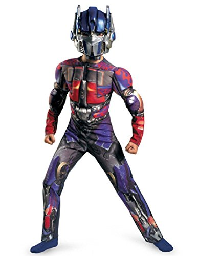 Optimus Prime Classic Muscle Costume - Large (10-12) -