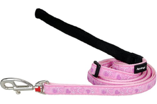Red Dingo Designer Dog Lead, Small, Breezy Love Pink, My Pet Supplies