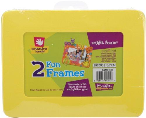 Fibre Craft Foam Frames - Fibre-Craft Creative Hands smART Foam Frames